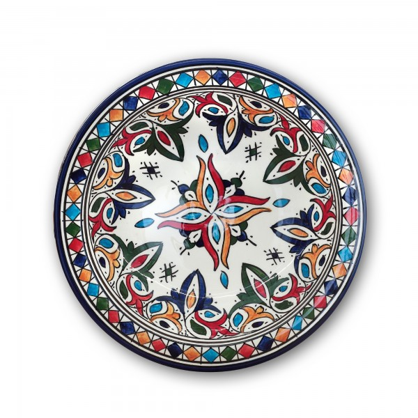 Zierkeramikteller 'Malaka', Ø 28 cm, H 6,5 cm