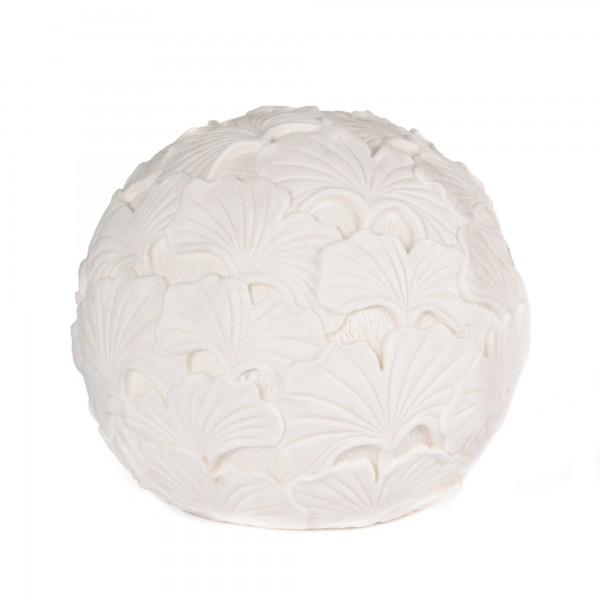 Leuchte 'Gingko XL', weiß, T 41 cm, B 41 cm, H 35 cm