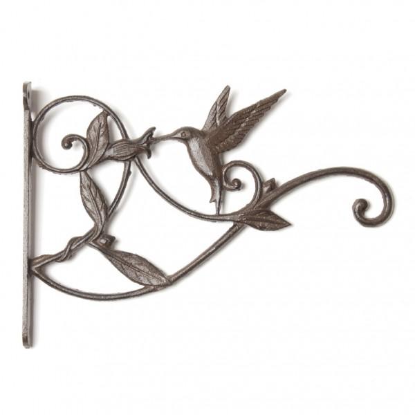 """Wandhaken """"Vogel"""", antik-schwarz, L 26 cm, B 4 cm, H 19,5 cm"""
