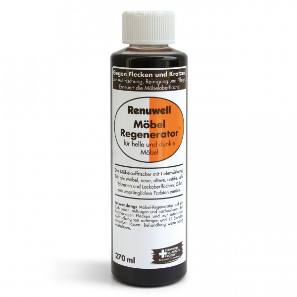 Möbel-Regenerator, 270 ml, für alle hellen und dunklen Holzarten und Lackoberflächen