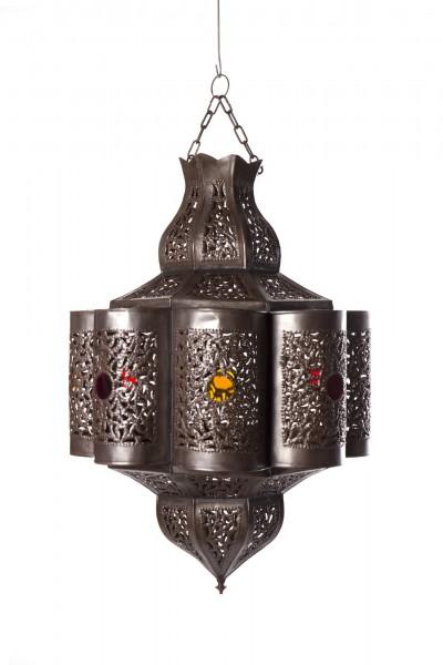"Marokkanische Deckenleuchte ""Sokkar"", Ø 30 cm, H 45 cm"