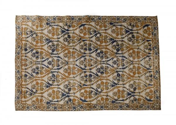 "Teppich ""Nagar"", handbedruckt, multicolor, L 200 cm, B 140 cm"