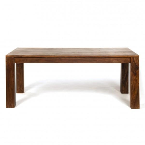 Tisch, braun, L 90 cm, B 180 cm, H 76 cm