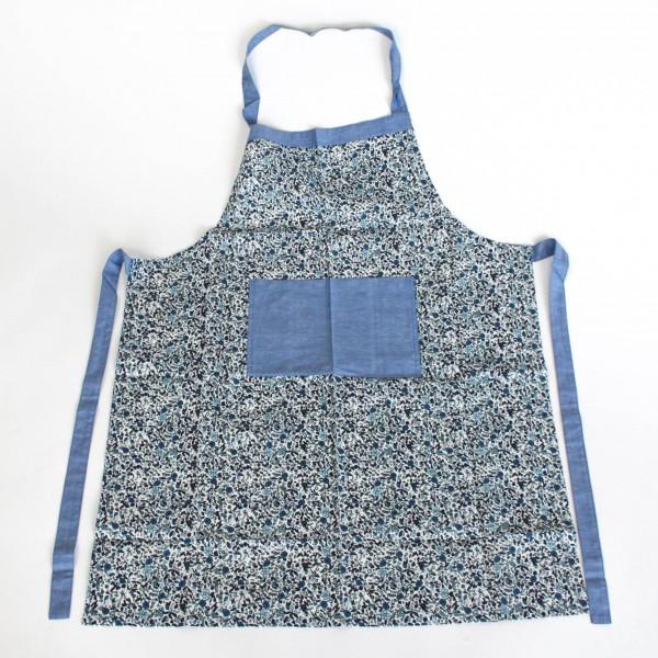 """Küchenschürze """"Alva"""", blau/weiß"""
