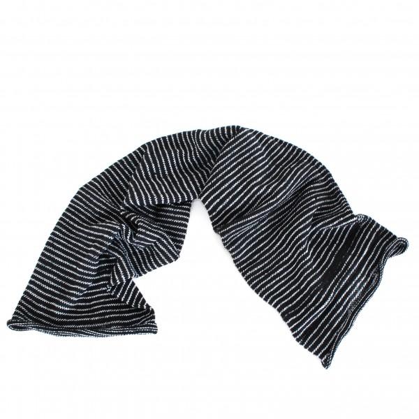 "Schal ""Magic Scarf"", schwarz/weiß, L 65 cm, B 20 cm"