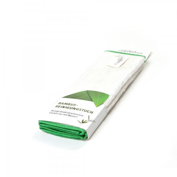 Reinigungstuch 'Bambus', 2er-Pack, weiß, L 27 cm, B 30 cm
