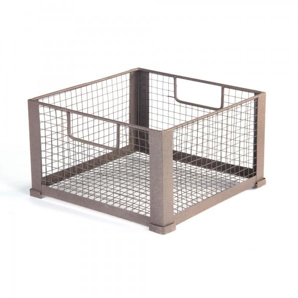"Stapelbox ""Decin L"", aus Draht, L 38 cm, B 38 cm, H 20,5 cm"