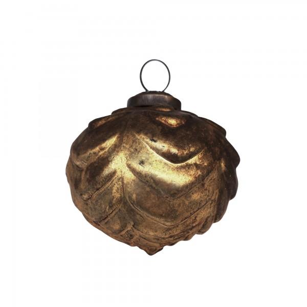 Anhänger Oval, gold, T 10 cm, B 10 cm, H 10 cm
