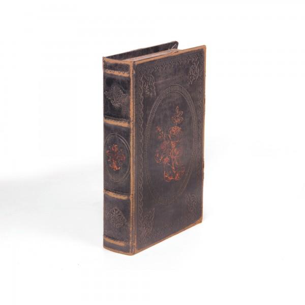 """Buchhülle """"Rose"""" mit Schließfach, L 16 cm, B 5 cm, H 24 cm"""