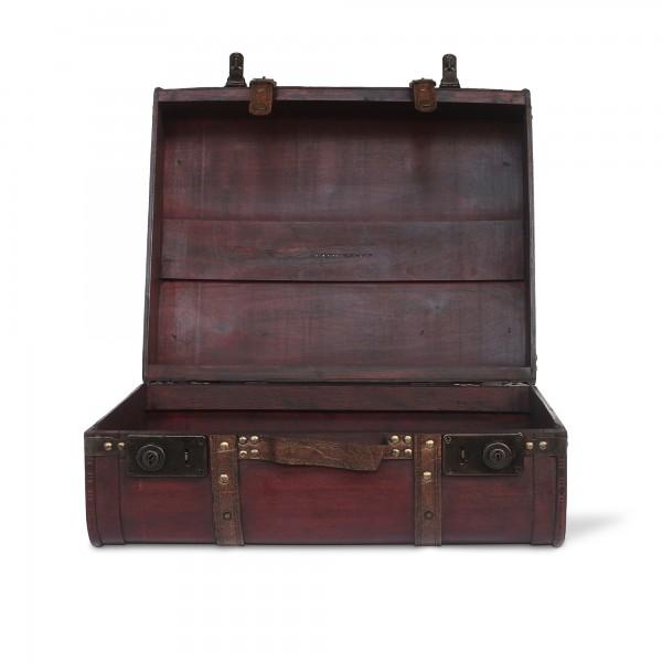 Kofferbox L, braun, T 44 cm, B 38 cm, H 19 cm