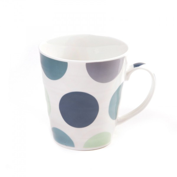 "Tasse ""Fundao"", New Bone China Porzellan, Ø 9 cm, H 10 cm"