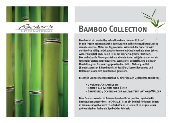 Bambusstange 7m, natur, T 700 cm, B 2,5 cm, H 2,5 cm