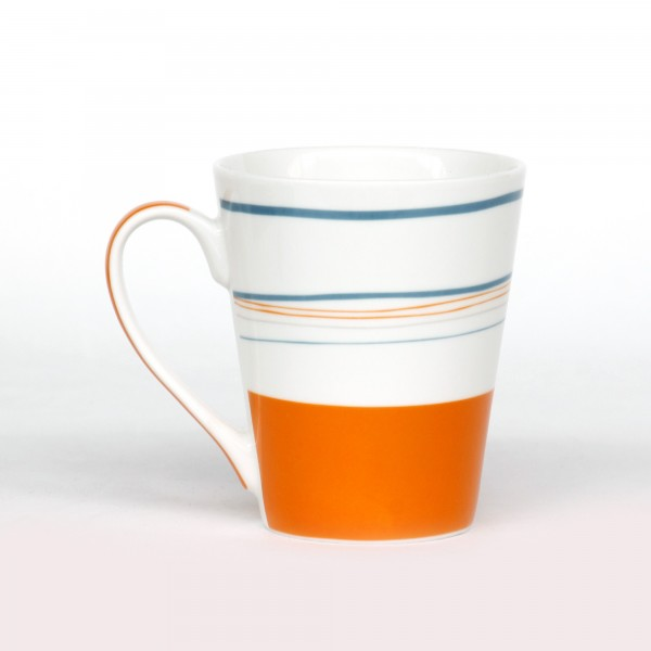 New Bone China 'Atalaia', multicolor, Ø 9,3 cm, H 11 cm