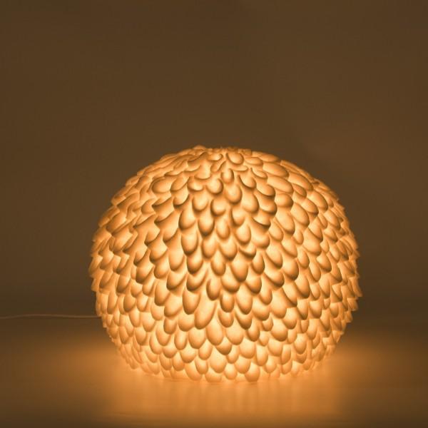 Leuchte 'Blattregen', B 32 cm, H 26 cm