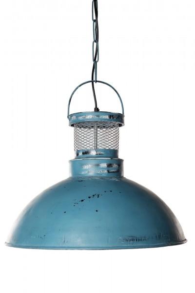 Leuchte 'Seablue', aus Metall, blau, Ø 52 cm, H 40 cm