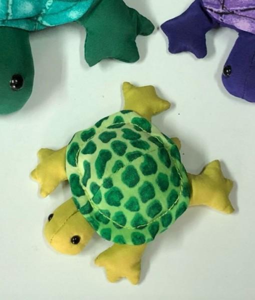 Sandtier 'Schildkröte' S, multicolor, T 7 cm, B 6 cm, H 3 cm