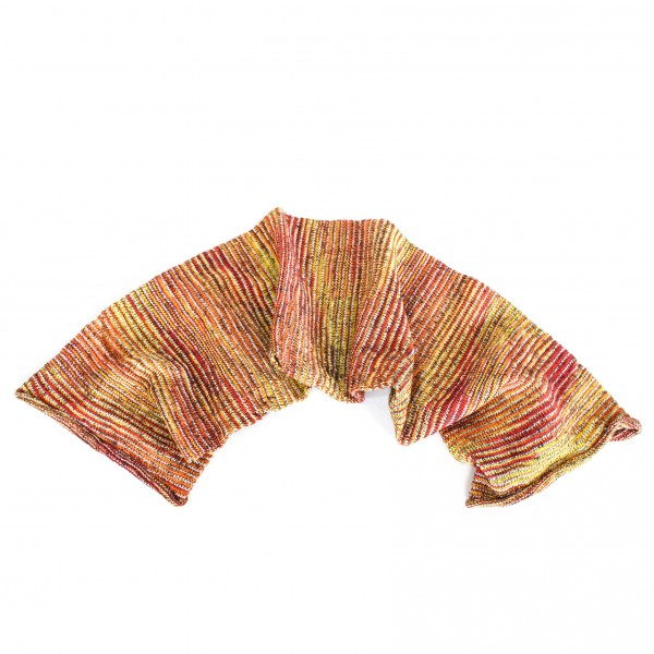 "Schal ""Magic Scarf"", gelb/orange, L 65 cm, B 20 cm"
