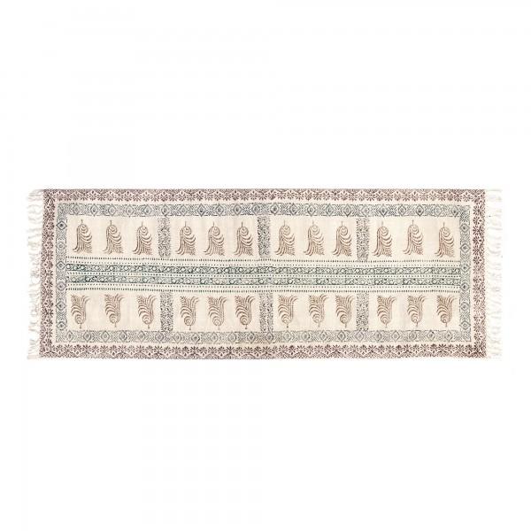 Läufer 'Coorg', multicolor, T 60 cm, B 180 cm
