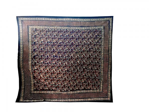 """Tagesdecke """"Shrub"""", aus 100% Baumwolle, multicolor, L 210 cm, B 245 cm"""