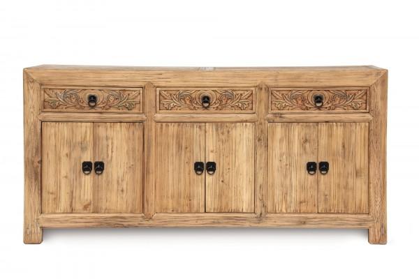 Sideboard 'Herolind', braun, T 45 cm, B 180 cm, H 88 cm