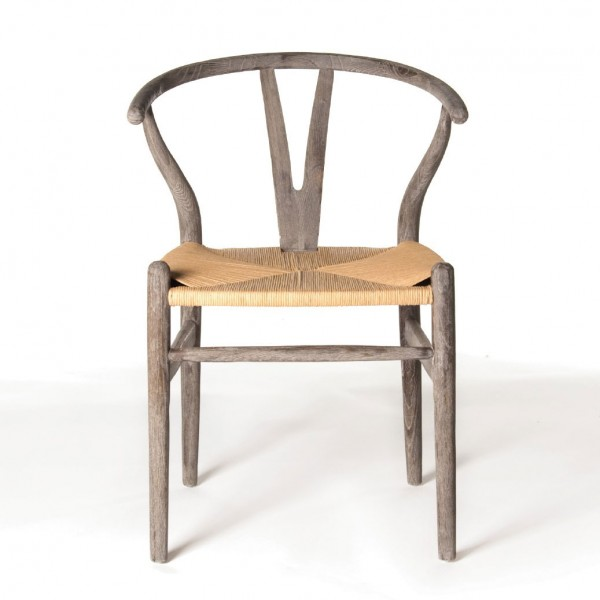"Stuhl ""Ménerbes"", brauntöne, H 78 cm, B 50 cm, T 50 cm"