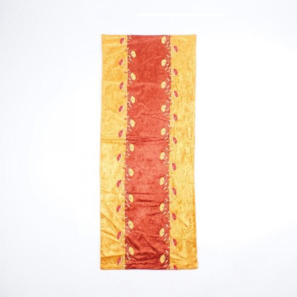 """Tischläufer """"Pumpkin"""", gold/rot, L 140 cm, B 45 cm"""
