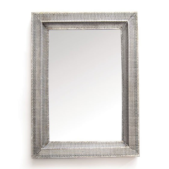 Spiegel Gezi, grau, B 54 cm, H 76 cm