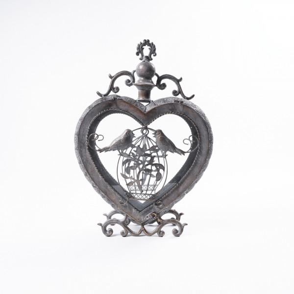 "Laterne ""Millicent"" aus Metall, B 36 cm, H 50 cm"