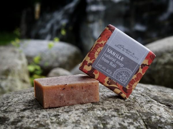 Naturseife 'Vanille', 40 g, aus 100% natürlichen Inhaltsstoffen
