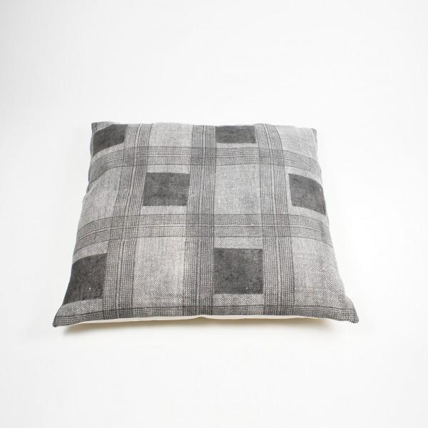 "Kissen ""Cube"", mit Füllung, grau, L 80 cm, B 80 cm"