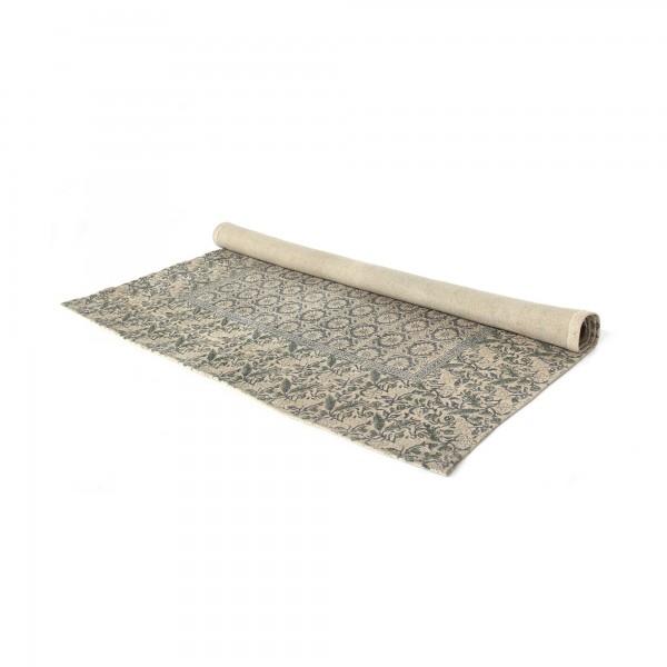 Teppich 'Kohima', cremeweiß, blautöne, T 140 cm, B 200 cm