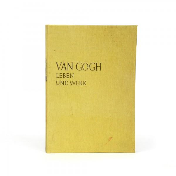 Buchhülle 'Van Gogh - Leben und Werk', T 3 cm, B 15 cm, H 22 cm