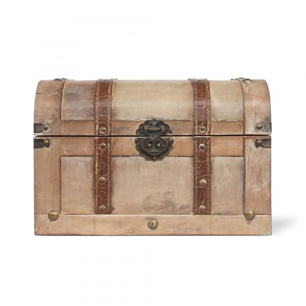 Koffertruhe 'Bura' S, natur, T 35 cm, B 23 cm, H 23 cm
