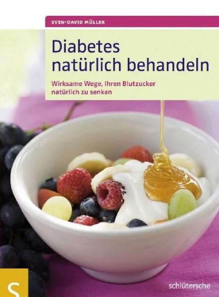 Buch 'Diabetes natürlich behandeln'