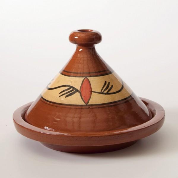 Tajine 'Tanger', braun, H 25 cm, Ø 29 cm