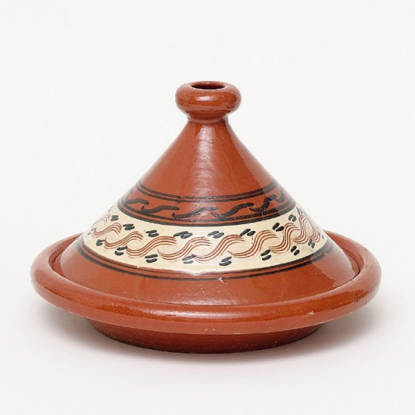 "Tajine ""Rabat 1"", braun, H 20 cm, Ø 29 cm"
