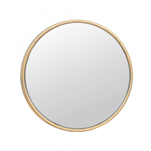 Spiegel 'Lacette', kupfer, Ø 49 cm, T 3,5 cm