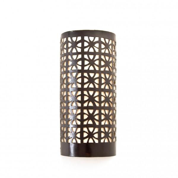 Wandleuchte 'Mogador', aus Marokko, B 13 cm, H 30 cm
