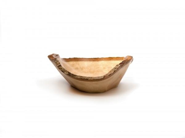 eckige Schale, natur, T 29 cm, B 31 cm