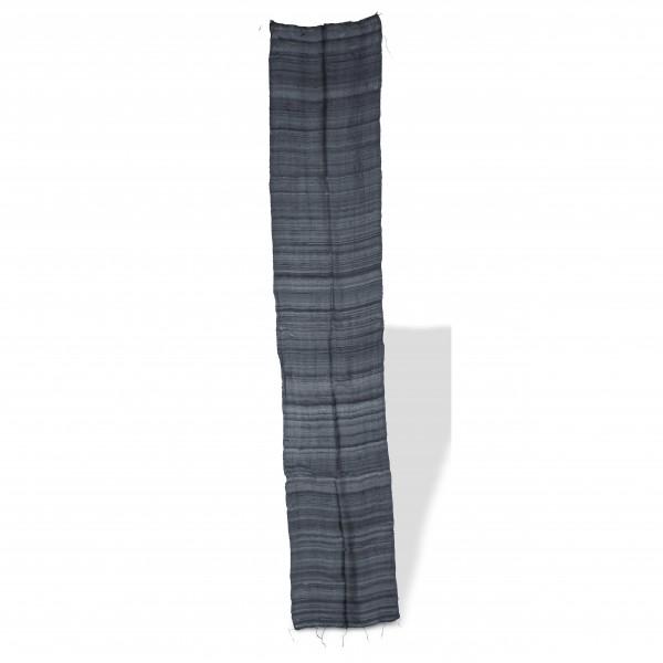 Seidenschal, grau, L 35 cm, B 170 cm