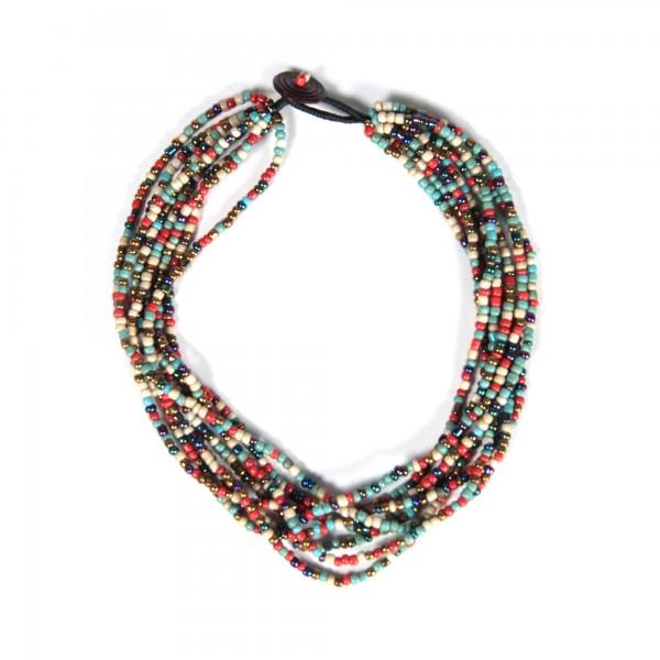 """Halskette """"Perlen"""", multicolor"""