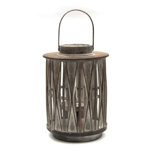 """Laterne """"Dhiyo"""" aus Bambus, Ø 24 cm, H 34 cm"""
