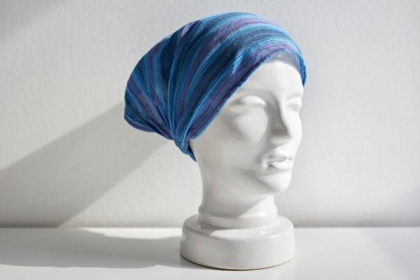 Haarband 'Anaheim', blau, schwarz