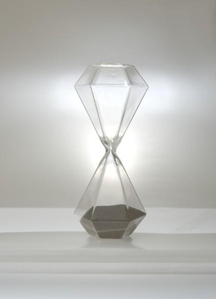 Sanduhr, 3 Minuten, Ø 7 cm, H 19 cm
