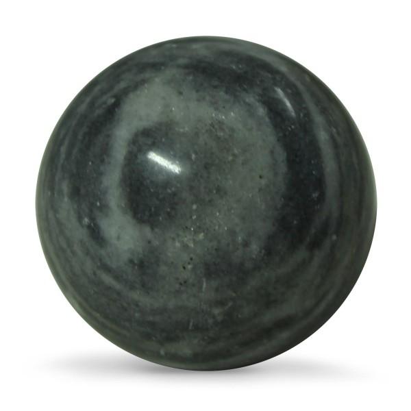 Quigongkugel, grau/weiß, Ø 6 cm