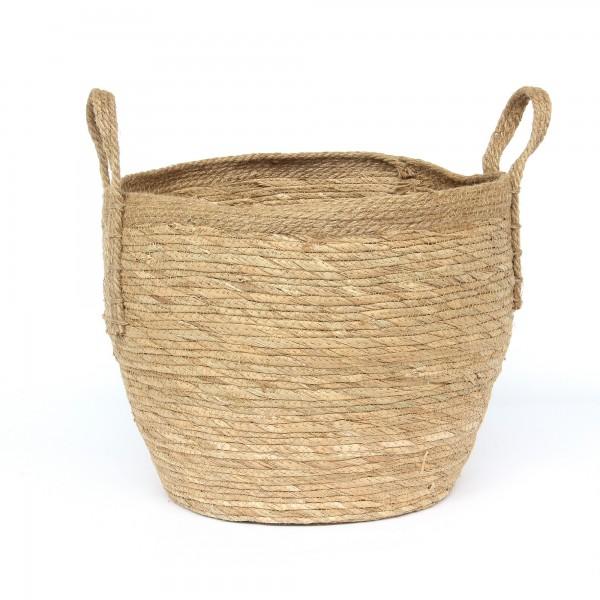 Korb 'Mestiere' L, natur, Ø 40 cm, H 34 cm
