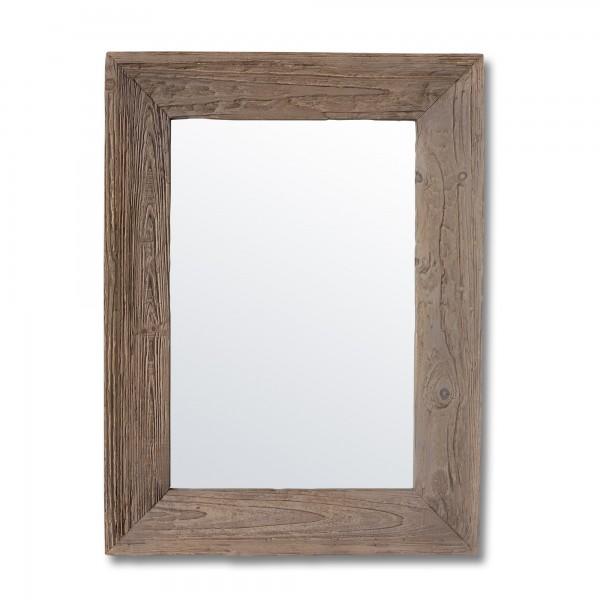 Spiegel Holzrahmen, natur, T 5 cm, B 60 cm, H 80 cm
