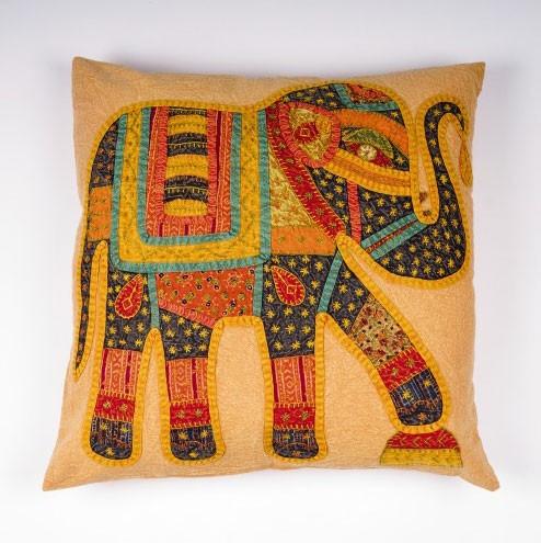 """Kissenhülle """"Elephant"""", multicolor, L 60 cm, B 60 cm"""