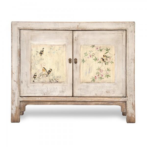 Sideboard 'Cerise' antik, 2 Türen, natur, T 42 cm, B 116 cm, H 96 cm
