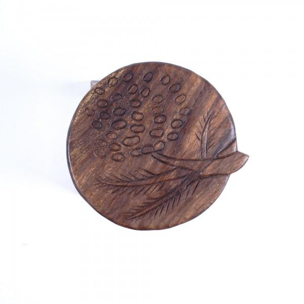 "Hocker ""Baum"", braun, H 25 cm, Ø 25 cm"